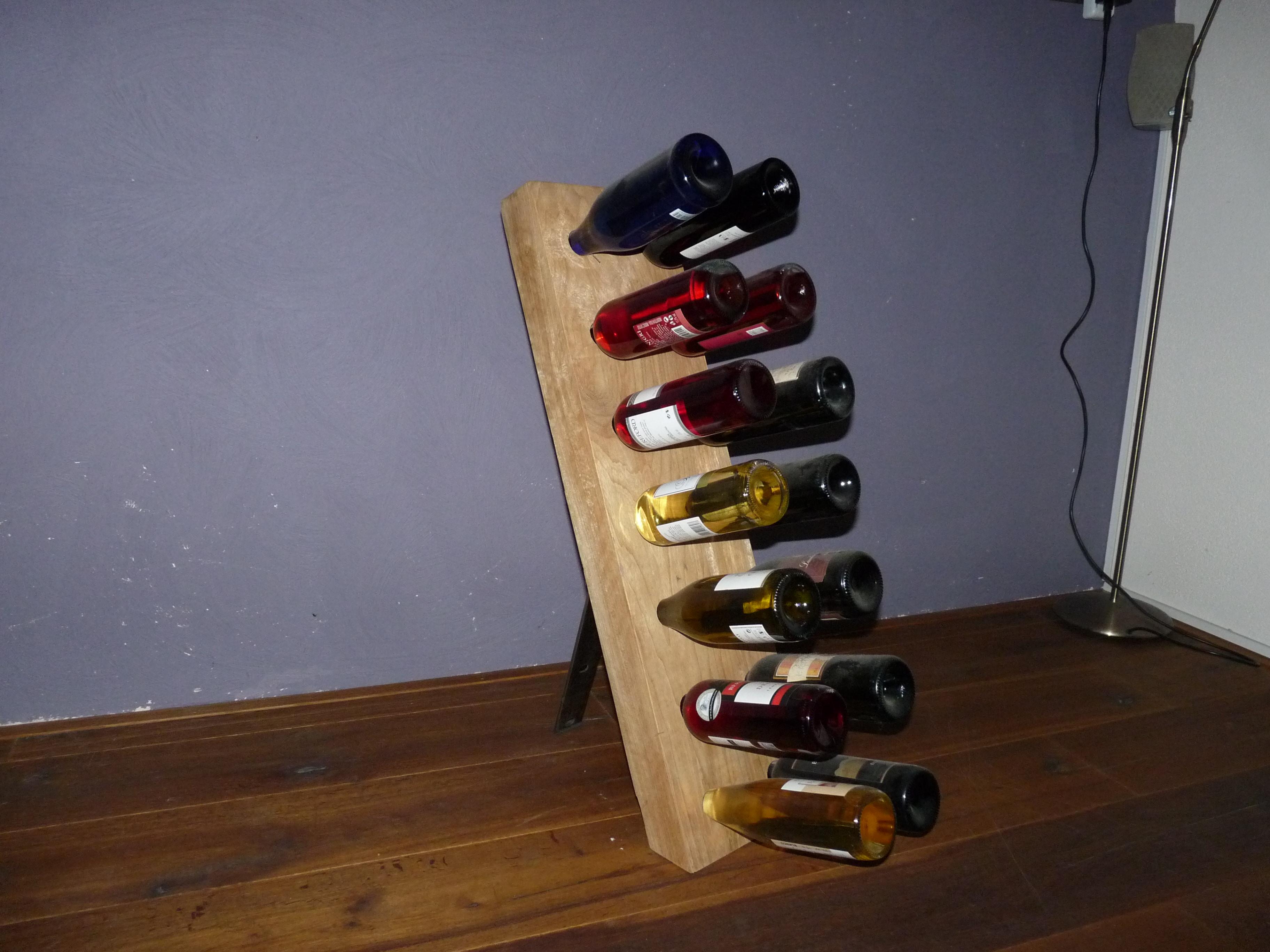 maatwerk wijnrek